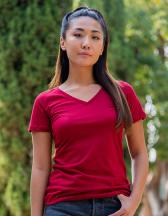 Ladies` Ideal V Neck-T