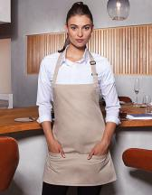 Short Bib Apron Basic with Buckle and Pocket