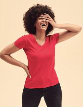 Ladies Valueweight V Neck T